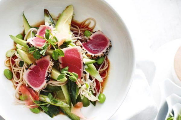 Japanese Tuna Cold Soba